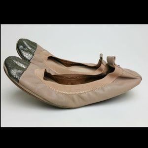Yosi Samra Sz 9 8.5 Samantha Packable Ballet Flats